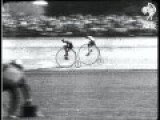 The Penny Farthing Bike Race 1928 Pathe No Audio