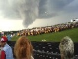 Tornado Almost Crashes High School Graduation