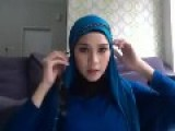 Tutorial Hijab Simple - Zaskia Adya Meca