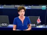 The Madness 22db Of A Borderless EU Immigration System - UKIP Leader Diane James