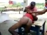 Thief Beaten In The Ass