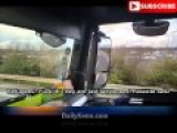 Truck Driver Swerving And Cursing At Ungrateful Syrian Immigrants. With English Captions