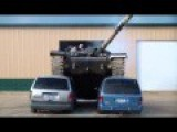 Tank Crush Two Car Easily