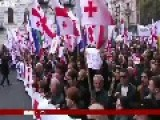 Thousands Rally In Georgia Over Abkhazia's Future