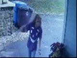 Thief Goes Around Stealing Packages From Front Yards