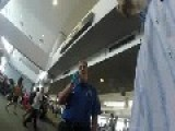 TSA Tries To Screen Man After Landing Because They Say They Didn't Do It Right At The Departure, WTF !!!!