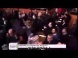Turkish Crowd Riot, Interrupt Speech By Former Iran President Ahmadinejad