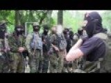 Tribute To Ukrainian Paramilitaries Fighting In The East