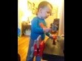 Two Year Old Boy Hammers His Moms Jugs