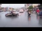 The Shock Phase Crossing The Street In Viet Nam