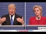 Trump-Hillary Parody By SNL