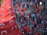 Tens Of Thousands Rally For An Anti-terror March In The Turkish Capital Ankara