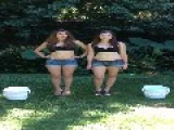 Two Girls That Should Not Be Doing The ALS Challenge!