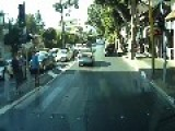 Taxi Driver Hits Two Elderly Pedestrian, Israel