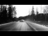 This Speeding Car Sharp Turn Ended In Flips