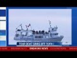 Tour Boat Sinks Off Coast Of Victoria BC