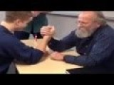 Teacher Vs Student Arm Wrestling