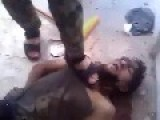 The Syrian Army Captures A Terrorist Sniper