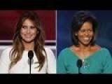 Trumps Wife Stolen Speech Comparison