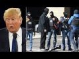 Trump 14 Min On Brussels Terror & From 2:44 Min About Merkel