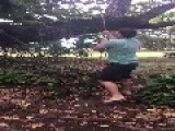 Tarzan Reenactment Fail
