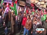 Thousands Of Protesters Hold Anti-US Rally In Amman