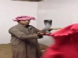The Saudi Cobra Snake Charmer And The Fleeing Mouse