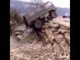 The Car Climbed An Impressive Road