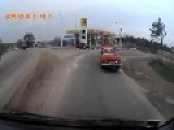 Twenty Three Russian Occupation Force GAZ Tigr Vehicles Filmed Entering Northern Sevastopol: March 2nd, '14