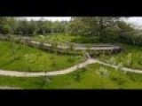 The Largest Garden Railway In England, Probably | Kurnia Aerial Photography & Video