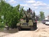 T-34, A Russian Tank From WW2, Gets A New Lease On Life In The Ukraine