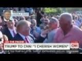 Trump Defiant On CNN: I'm More 'Beloved' Than Megyn Kelly Is