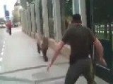 The Chechens On The Street Caught The Bear