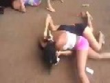 Two Women & Their Daughters Get Into A Fight