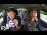Taylor Swift Lip Syncs To Her Song In The Car