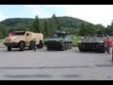 TATRA Excalibur Test Drive Live Demonstration Titus Ascod Pandur II Armoured Tactical Trucks Web TV