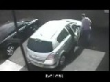 Thief Attempts To Steal Car While Bouncers Were Training On How To Arrest People