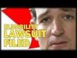 TED CRUZ'S CITIZENSHIP CHALLENGED BY TEXAS ATTORNEY LAWSUIT