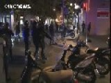 Third Night Of Riots Rock Barcelona's Gràcia District