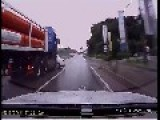 Truck Crashes In Asia