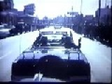 The Lost Film Of JFK's Motorcade From Behind