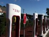 Tesla Charging Station On Cape Cod