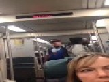 Train Conductor Gets Racially Abused By A Passenger Without A Ticket