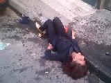 The Iranian Woman Fall From Building *graphic*