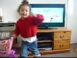 Two Year Old Dancing & That, Innit