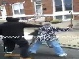 TWO OLD LADIES GET INTO A FIGHT OVER A CIGARETTE! = Ghetto Style =