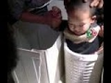 That's Not Laundry! Kid In China Is Trapped In Washing Machine