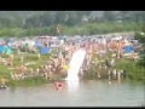 This Motorcycle Powered Suicide Water Slide Ride Is Insane