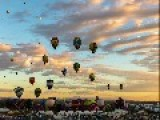 Time-lapse: Albuquerque Balloon Fiesta