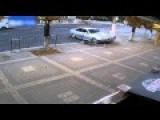 Teenager Narrowly Avoids Death As Car Slams Into Concrete